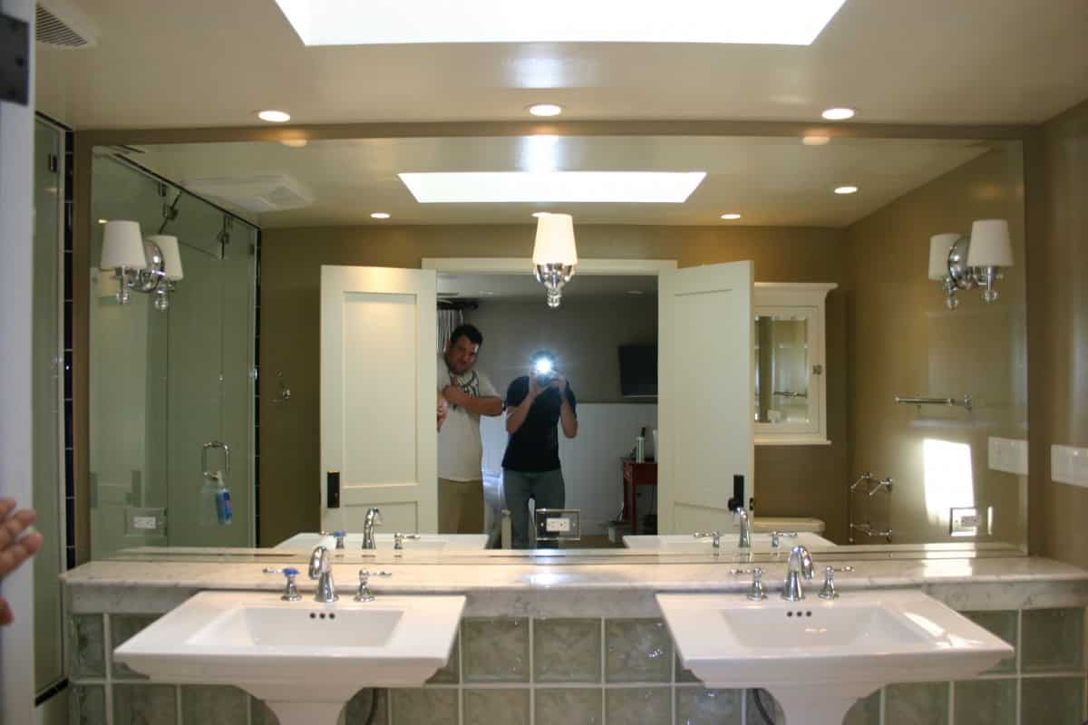 community glass shower doors mirror custom 144