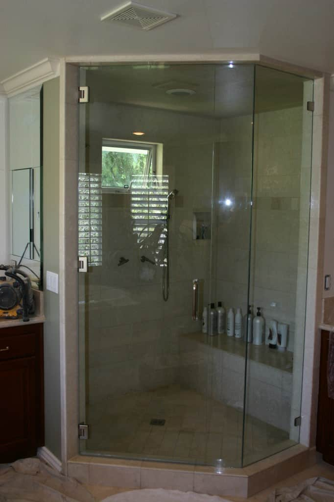 Glass shower doors enclosures community glass mirror frameless glass shower doors and walls are just the answer they add an elegant custom glass look to your bathroom planetlyrics Images