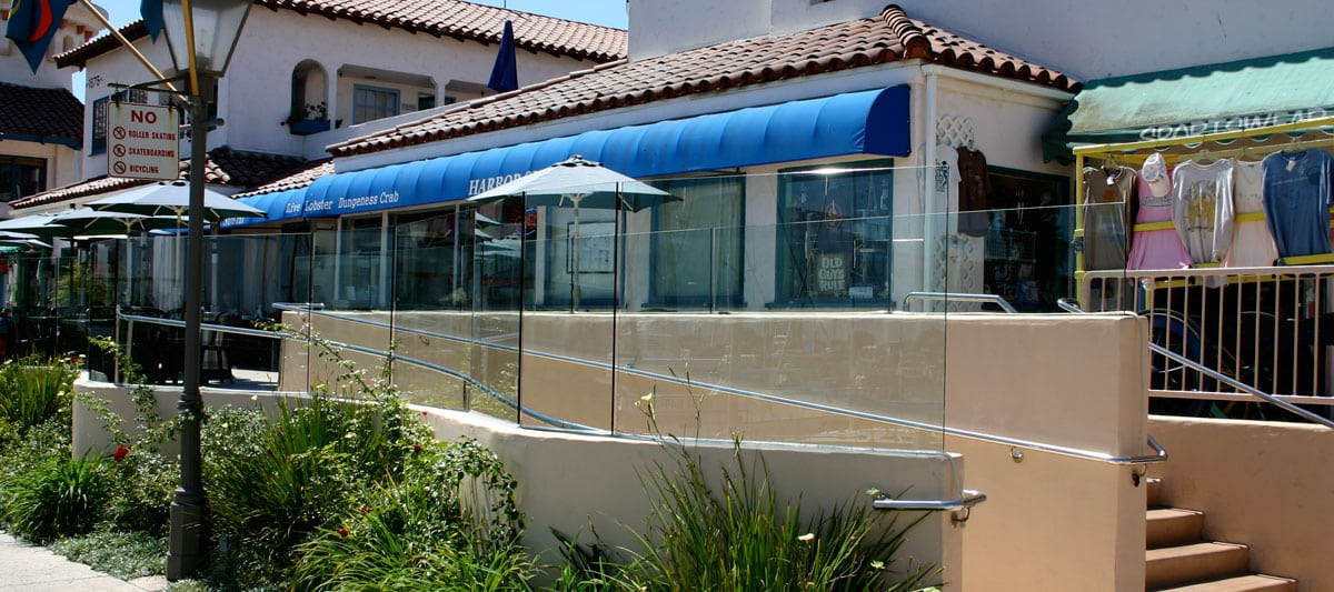 Custom commercial glass installations