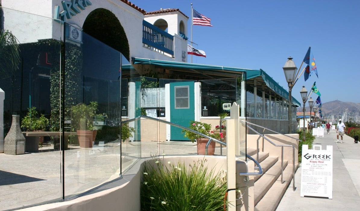 Wind Glass Shields Installed at Ventura Harbor