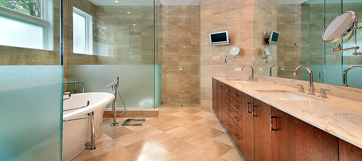 We specialize in Custom Frameless Glass Shower Walls & Windows